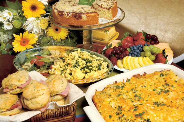 Breakfast Potluck Recipes  Run Brunch = RUNch