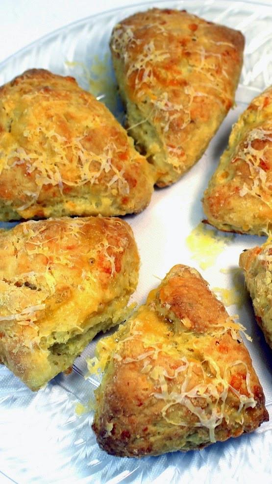 Breakfast Potluck Recipes  52 Ways to Cook Garlic Cheddar Savory Scones 52