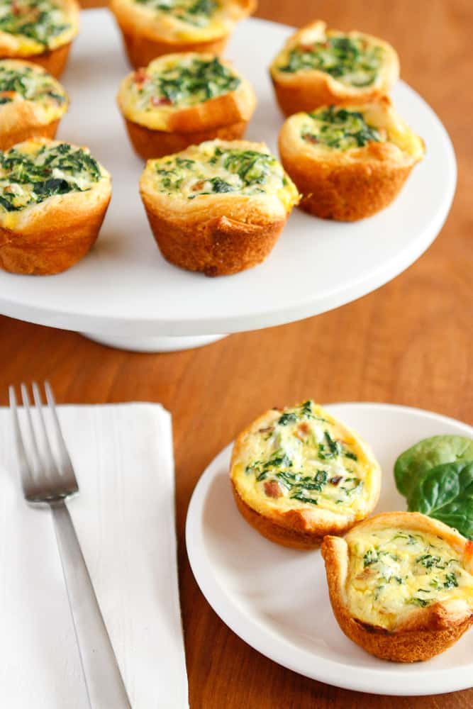 Breakfast Quiche Recipe  mini breakfast quiche