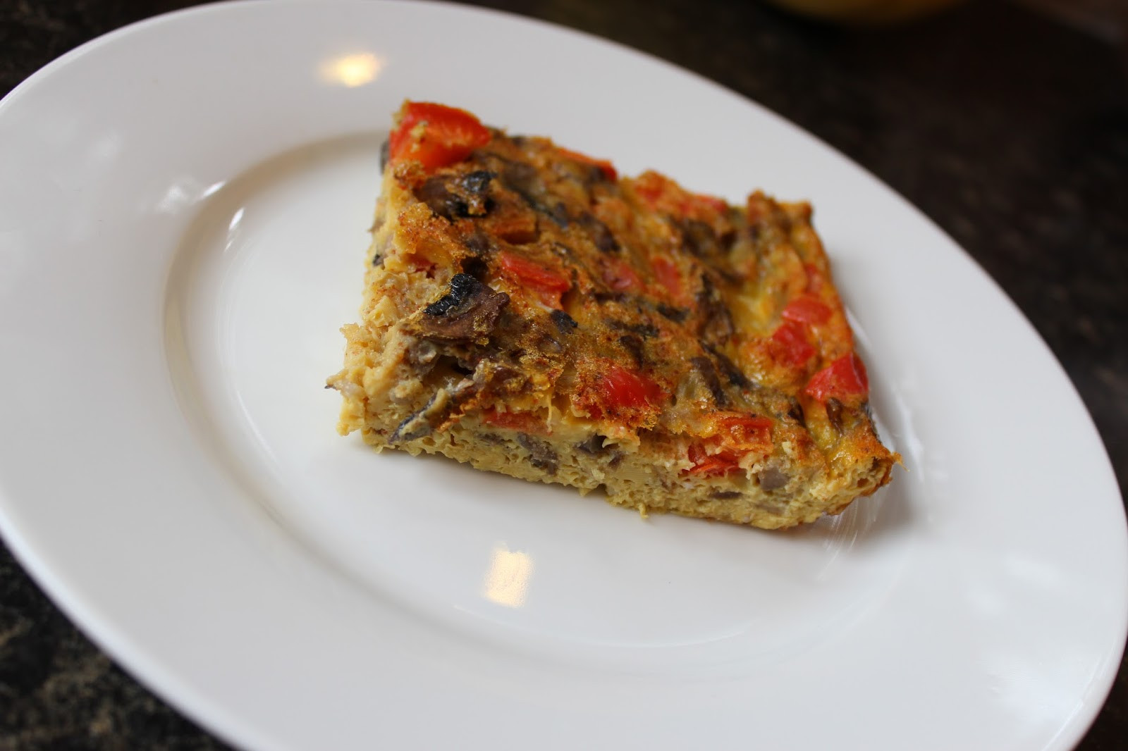 Breakfast Quiche Recipe  FitViews Crustless Paleo Breakfast Quiche Recipe