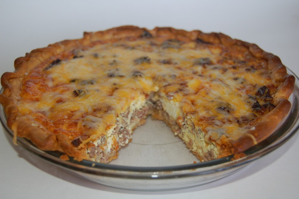 Breakfast Quiche With Sausage  Easy Sausage and Cheese Quiche Sarah Rae Vargas