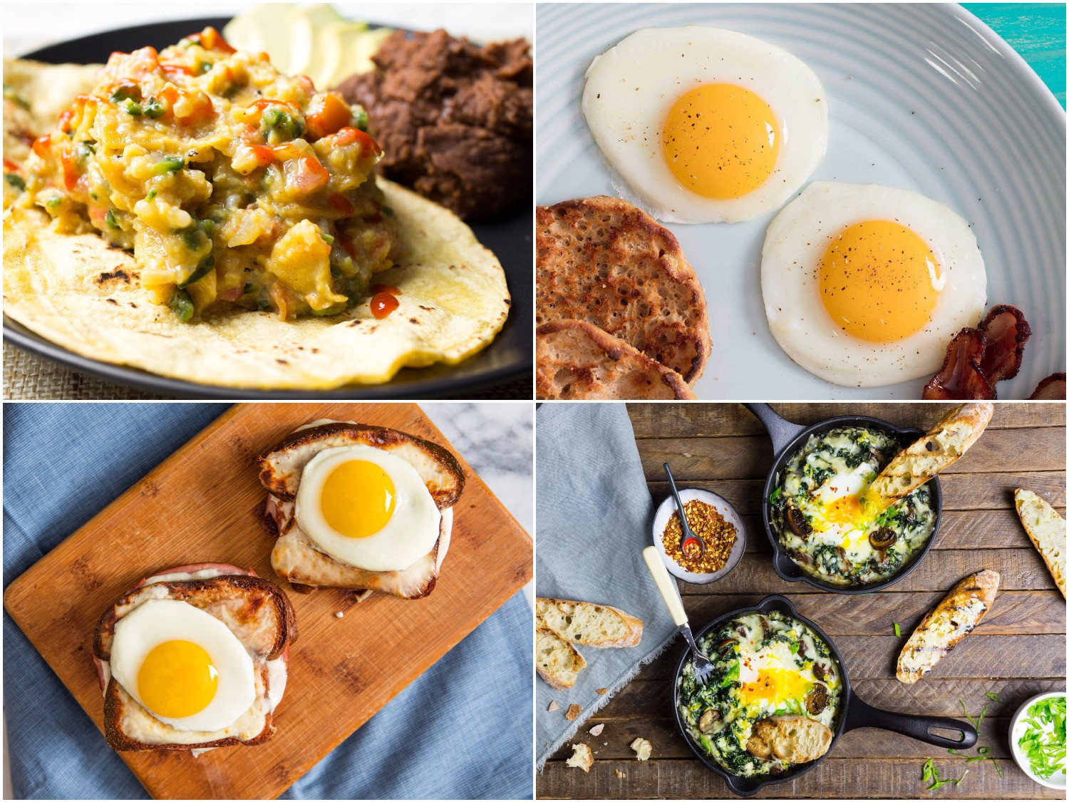 Breakfast Recipes With Eggs  Breakfast Foods That Start With The Letter T