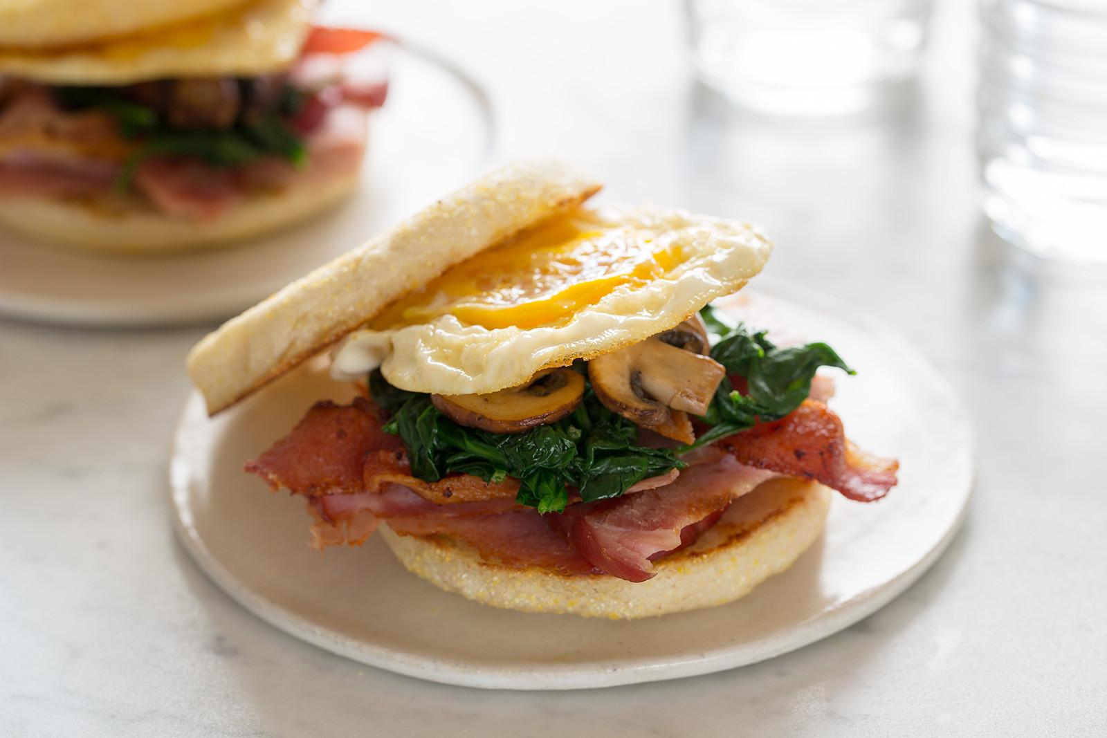 Breakfast Sandwich Recipes  Toasted Breakfast Sandwich