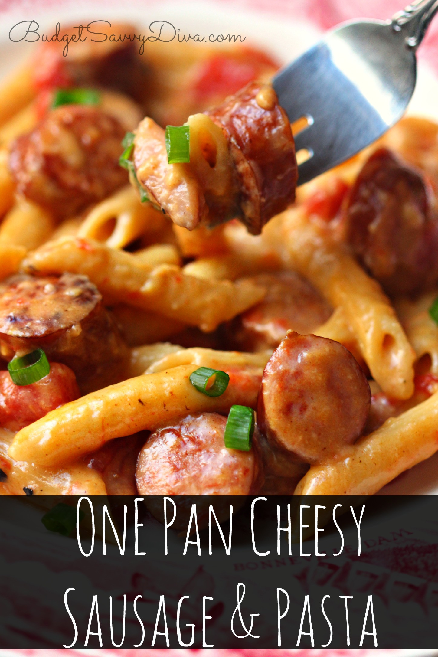 Breakfast Sausage Recipes For Dinner  smoked sausage and penne pasta