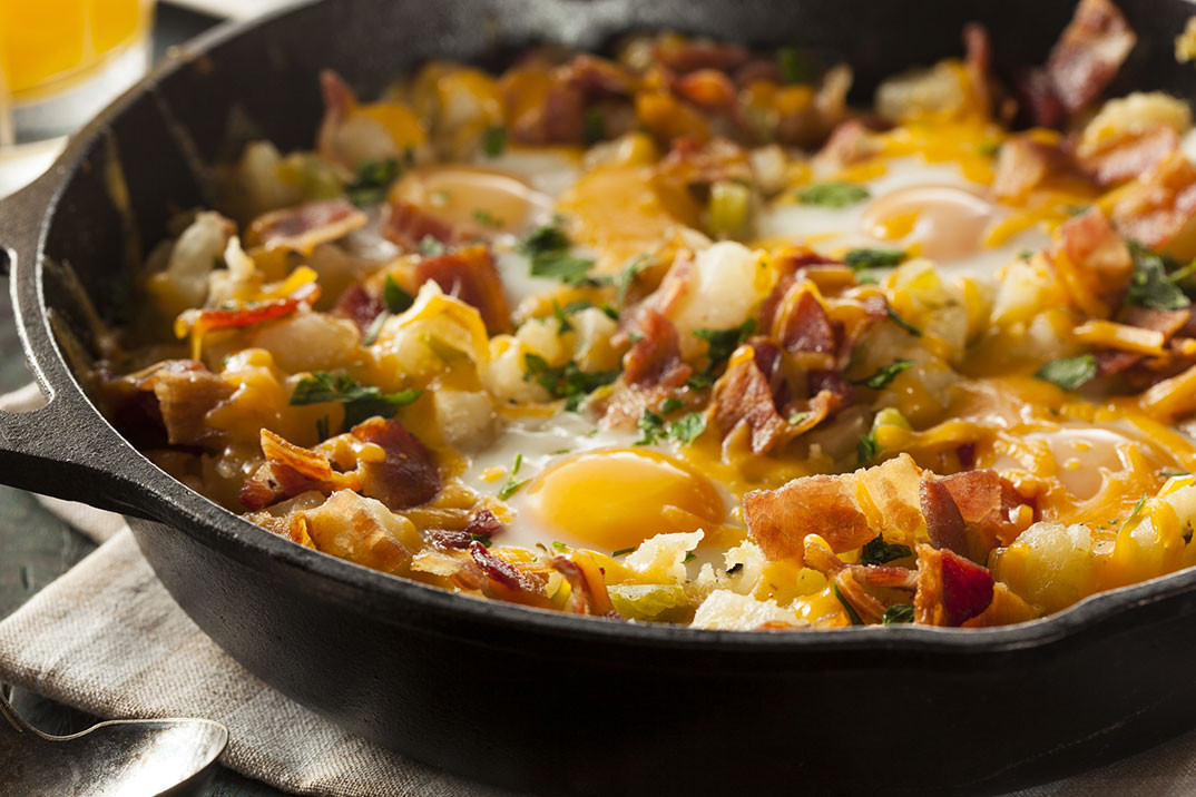 Breakfast Skillet Recipe  sausage skillet breakfast