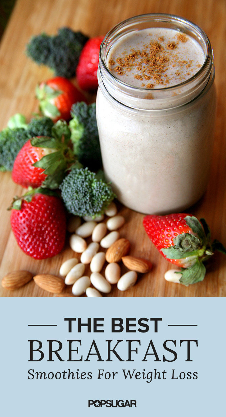 Breakfast Smoothie Recipes  10 Breakfast Smoothies That Will Help You Lose Weight