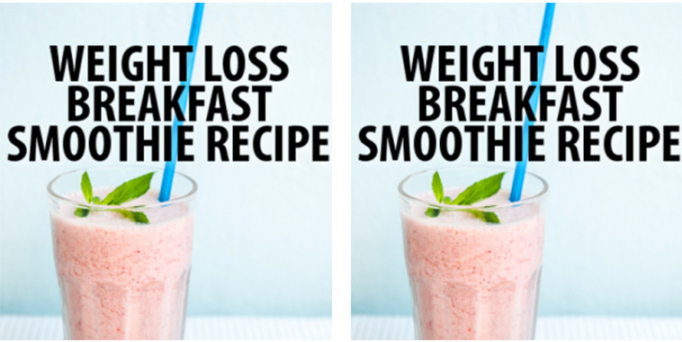 Breakfast Smoothie Recipes For Weight Loss  dr oz total 10 weight loss recipes