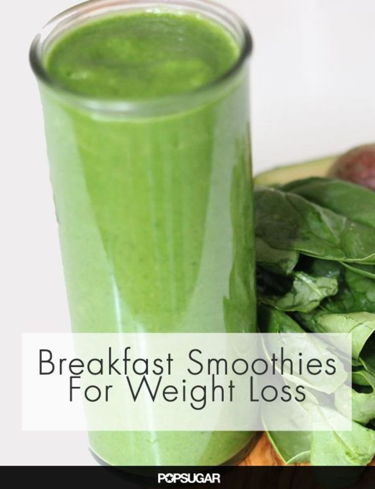 Breakfast Smoothie Recipes For Weight Loss  7 Breakfast Smoothies to Help You Lose Weight