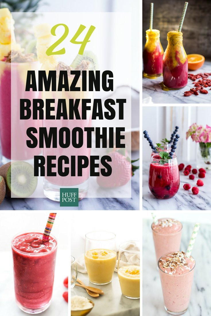 Breakfast Smoothie Recipes  Breakfast Smoothie Recipes That ll Rev Up Your Morning