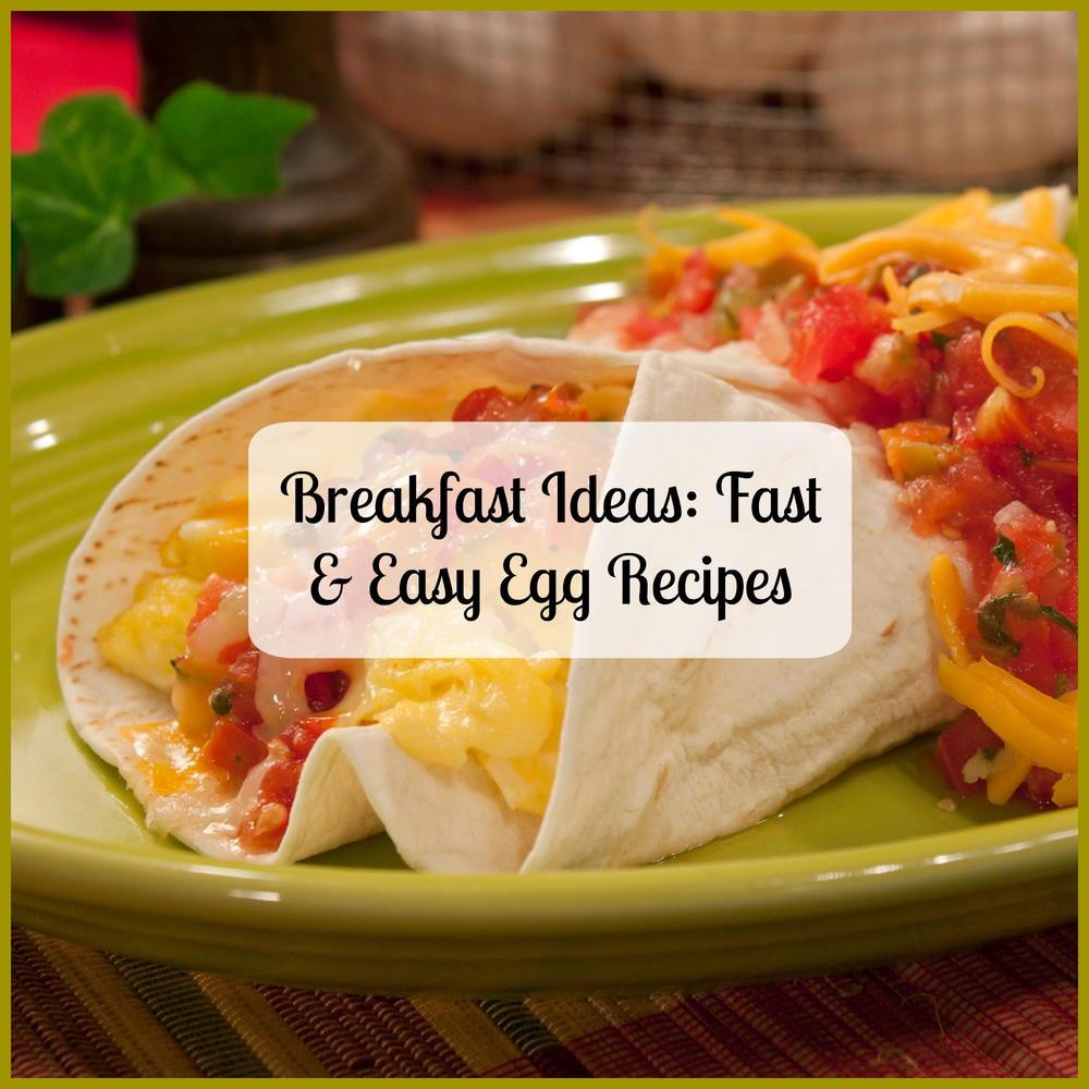 Breakfast To Go Recipes  Breakfast Ideas 16 Fast & Easy Egg Recipes