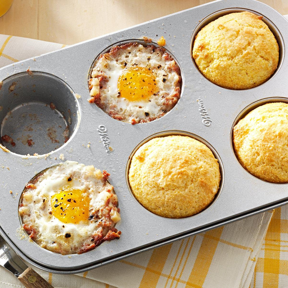 Breakfast To Go Recipes  Meal in a Muffin Pan Recipe