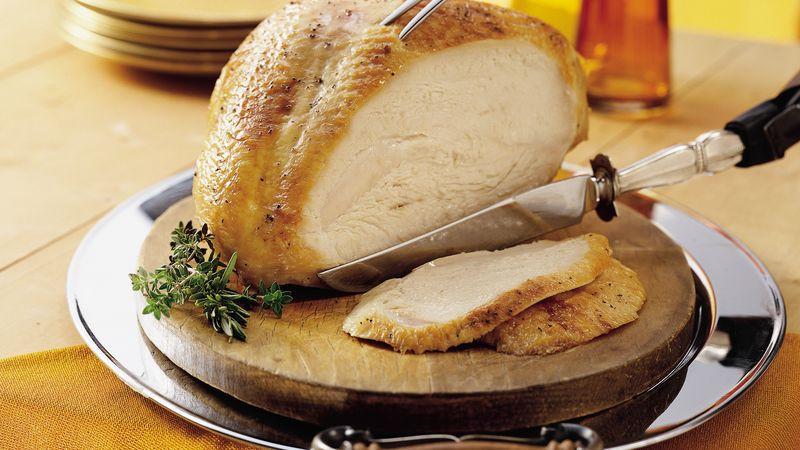 Brine For Turkey Breast  Best Brined Turkey Breast Recipe BettyCrocker
