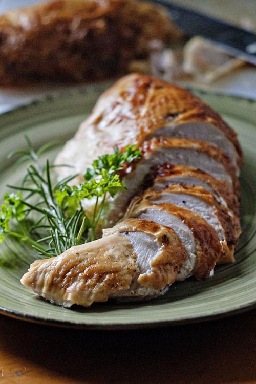 Brine For Turkey Breast  Brined and Roasted Turkey Breast