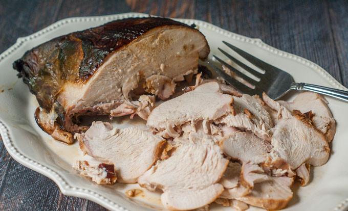 Brine For Turkey Breast  Smoked Turkey Breast Recipe Using an Easy Brine to add