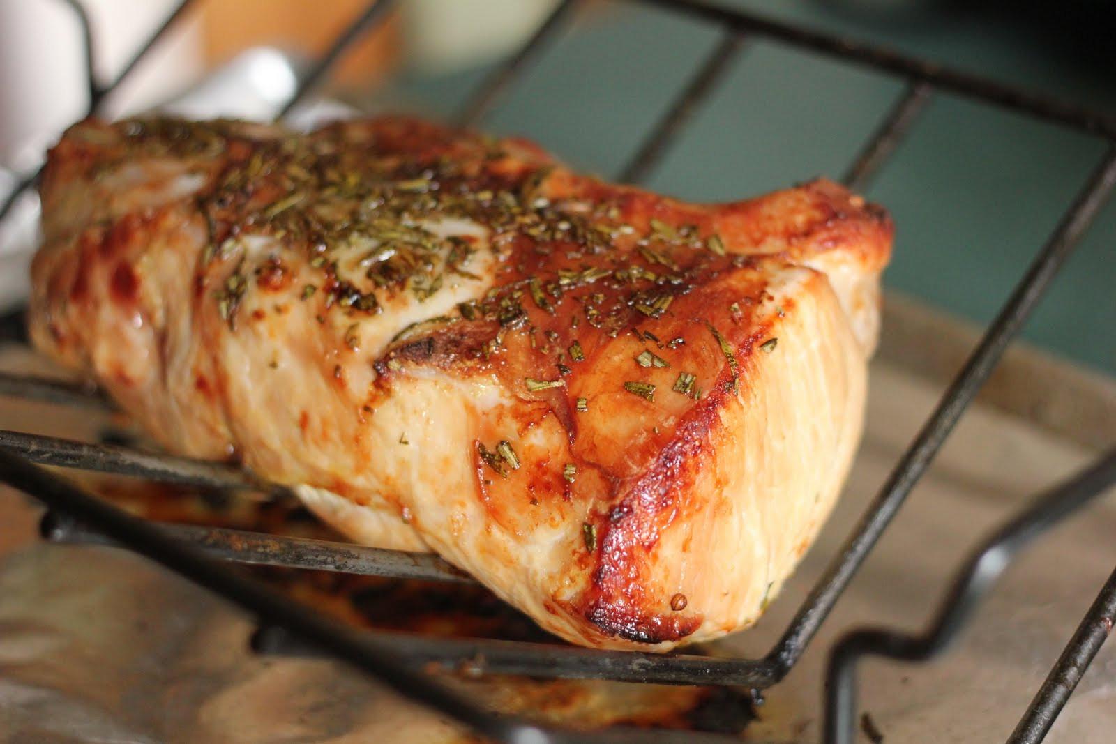 Brine Pork Loin  My Life A Plate Brined Pork Loin