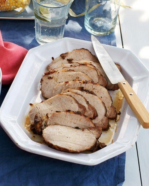 Brine Pork Loin  Coriander and Oregano Brined Pork Loin Recipe from