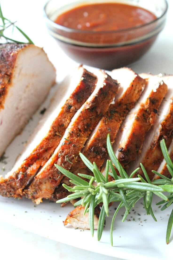 Brine Turkey Breast  Brined Roasted Turkey Breast Recipe