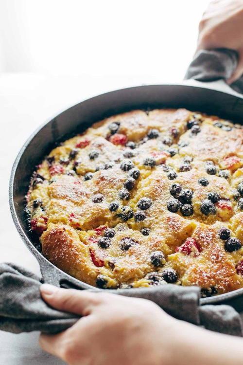 Brioche French Toast Casserole  Berry Brioche French Toast Casserole