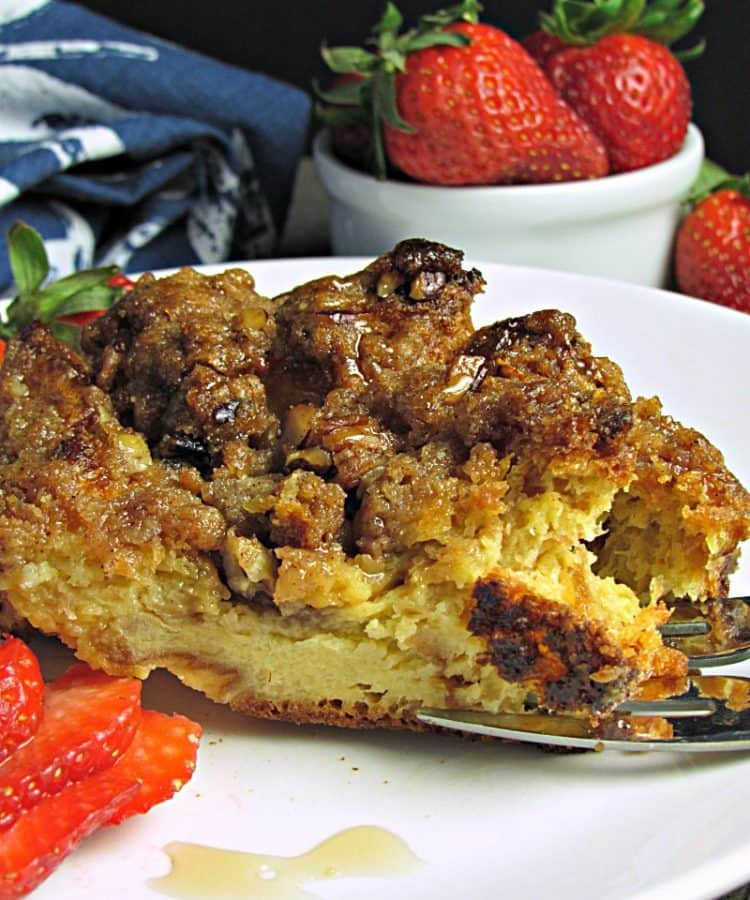 Brioche French Toast Casserole  Overnight French Toast Casserole from A Gouda Life