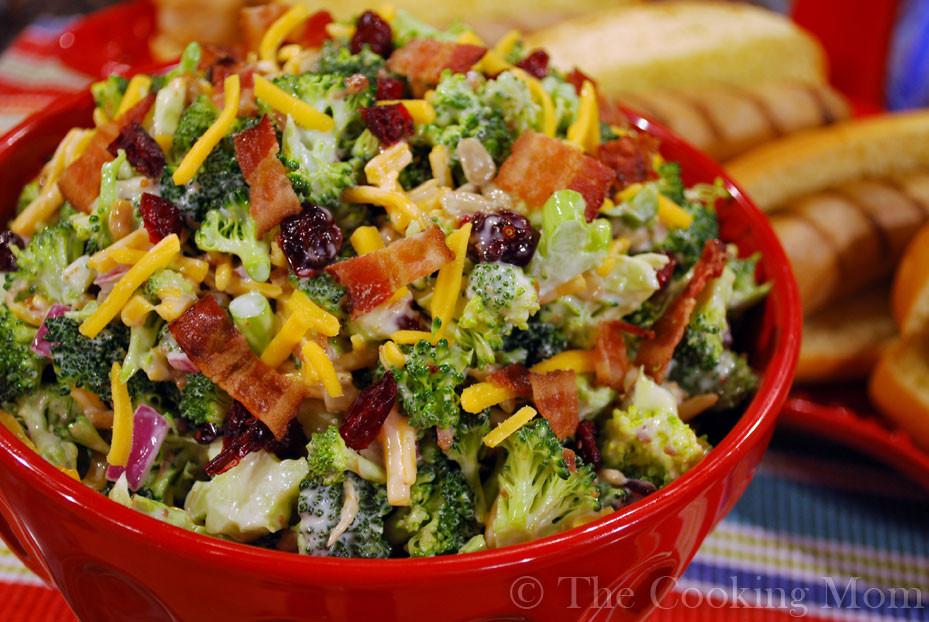 Broccoli And Bacon Salad  Broccoli Bacon Salad The Cooking Mom