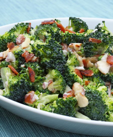 Broccoli And Bacon Salad  cold broccoli salad with bacon
