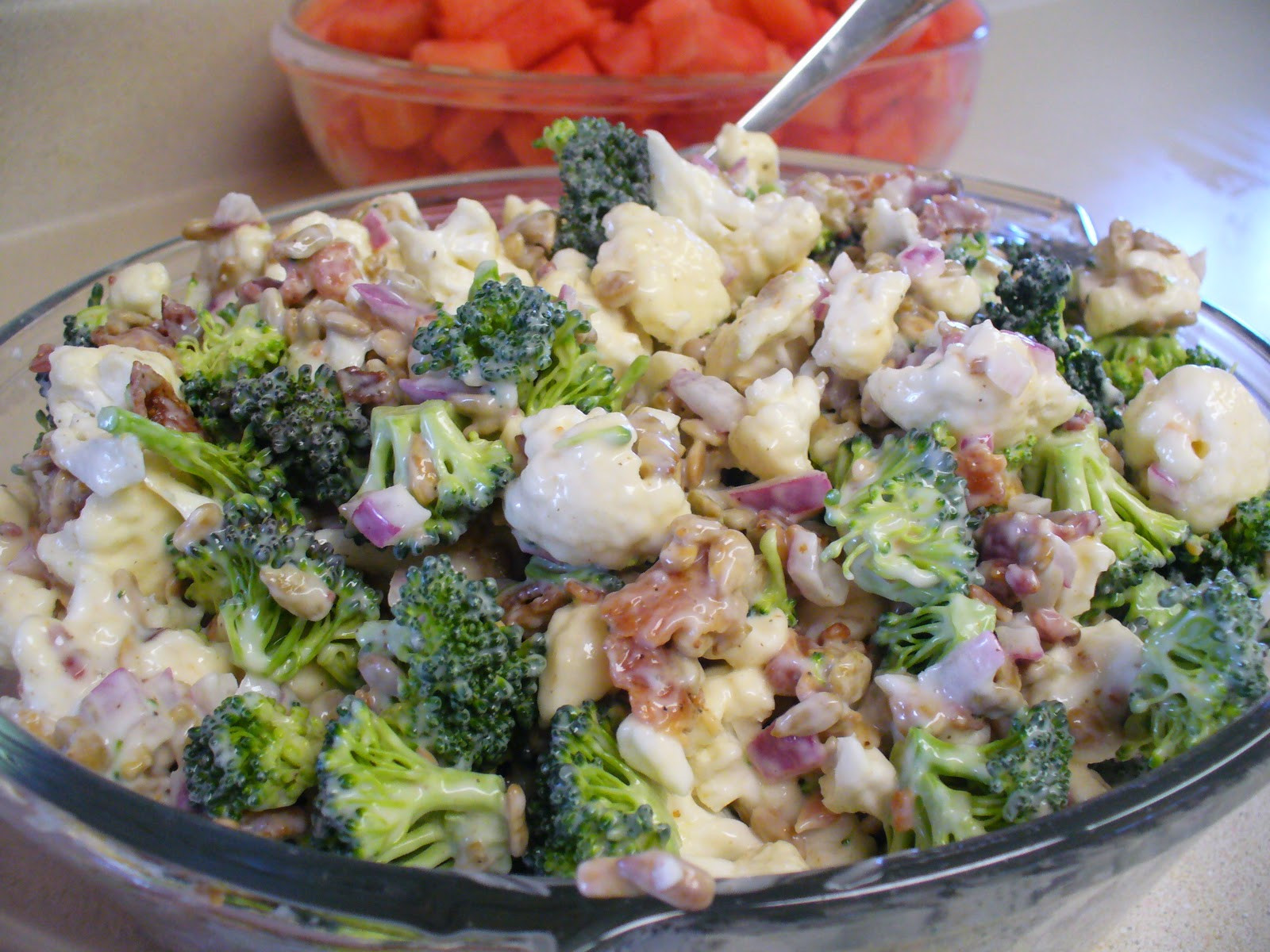 Broccoli And Cauliflower Salad  Out of My Sister s Kitchen Broccoli and Cauliflower Salad