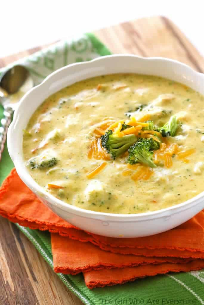 Broccoli And Cheese Soup Recipe  Panera s Broccoli Cheese Soup The Girl Who Ate Everything