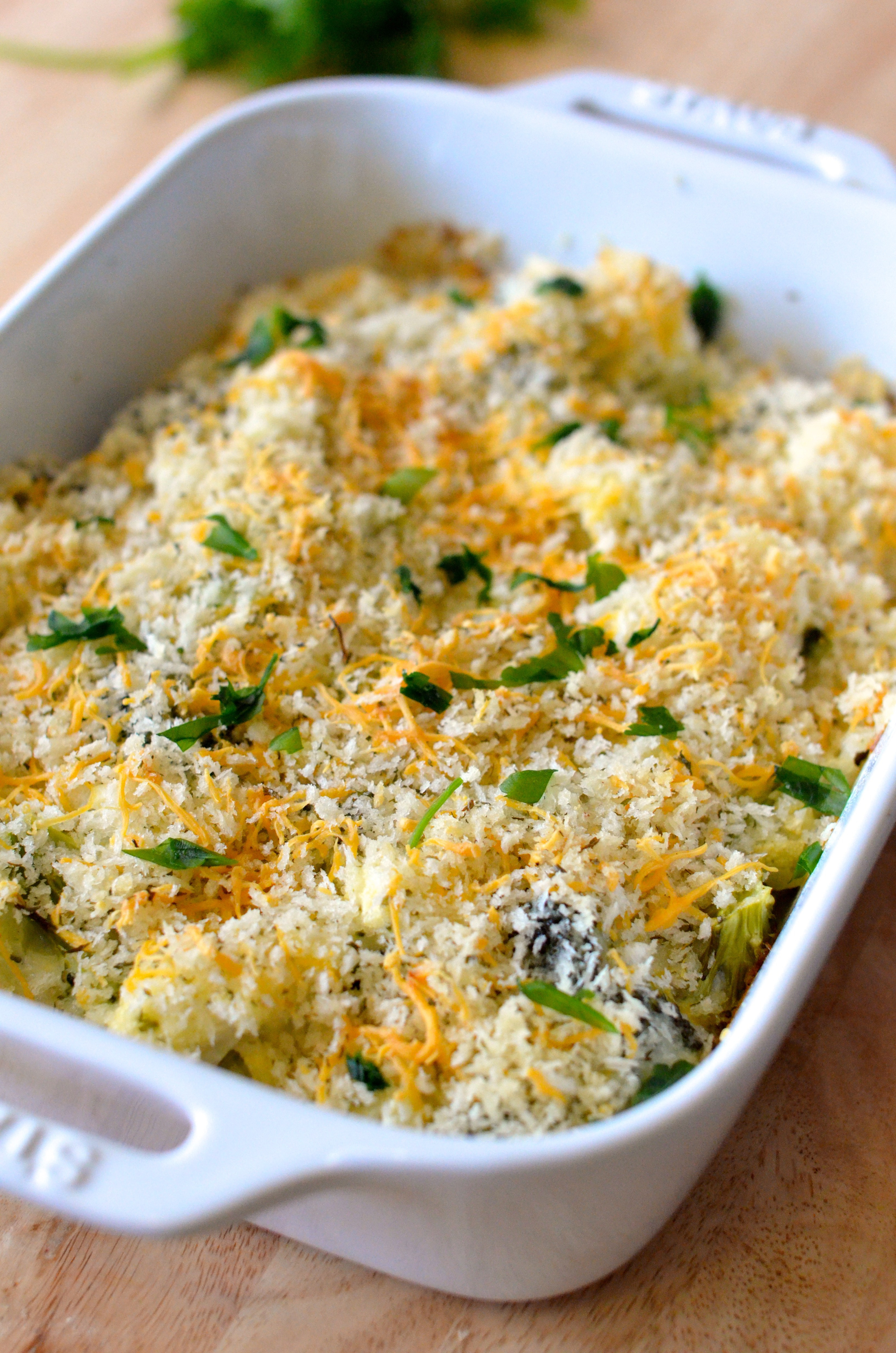 Broccoli Cauliflower Casserole  Cheesy Broccoli Cauliflower Bake Apple of My Eye