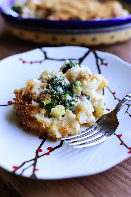 Broccoli Cauliflower Casserole  Broccoli Cauliflower Casserole