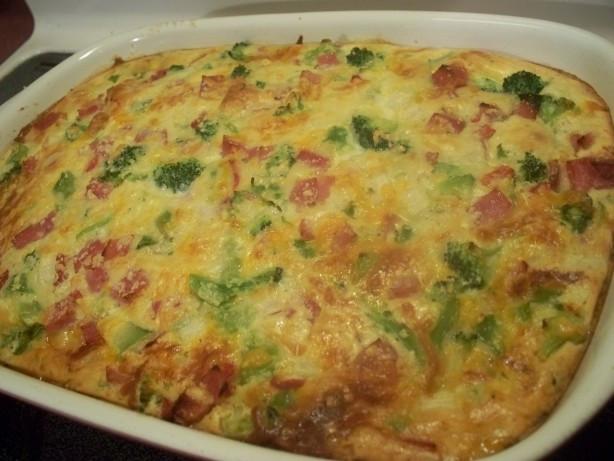Broccoli Ham Casserole  Ham And Broccoli Bake Recipe Food
