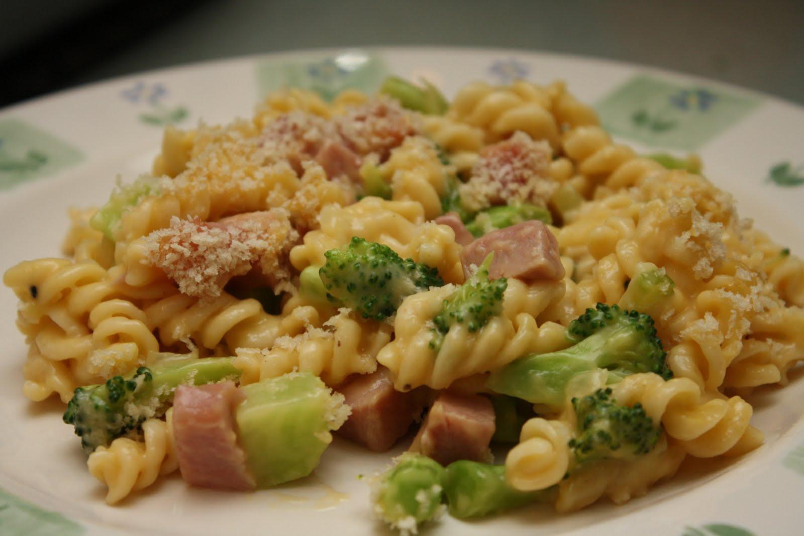 Broccoli Ham Casserole  Recipes from Michelle s Kitchen Ham & Broccoli Casserole