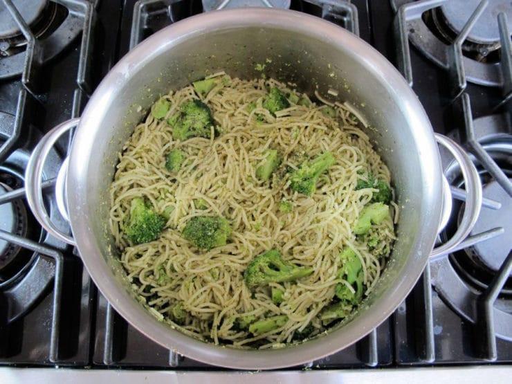 Broccoli Pesto Pasta  Broccoli Pesto Pasta Easy Healthy Dinner Recipe