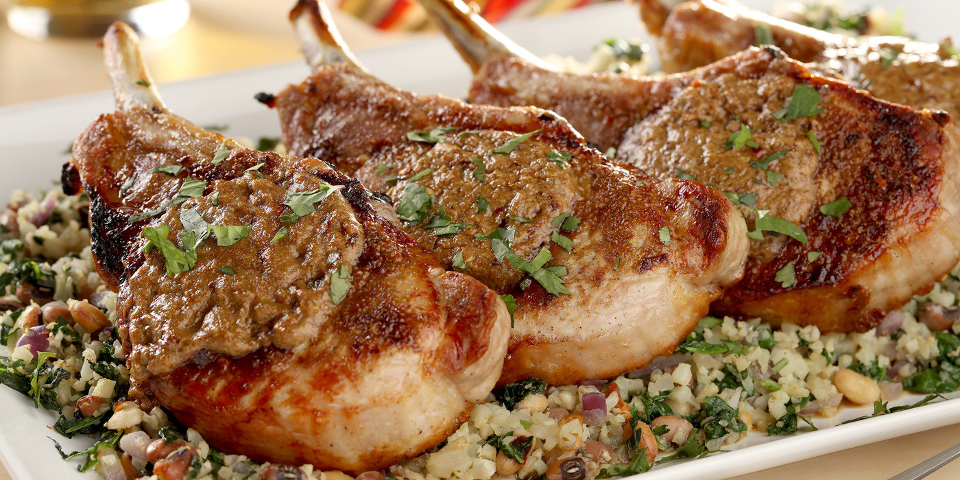 Broil Pork Chops  Broiled Pork Chops With Tabil Butter