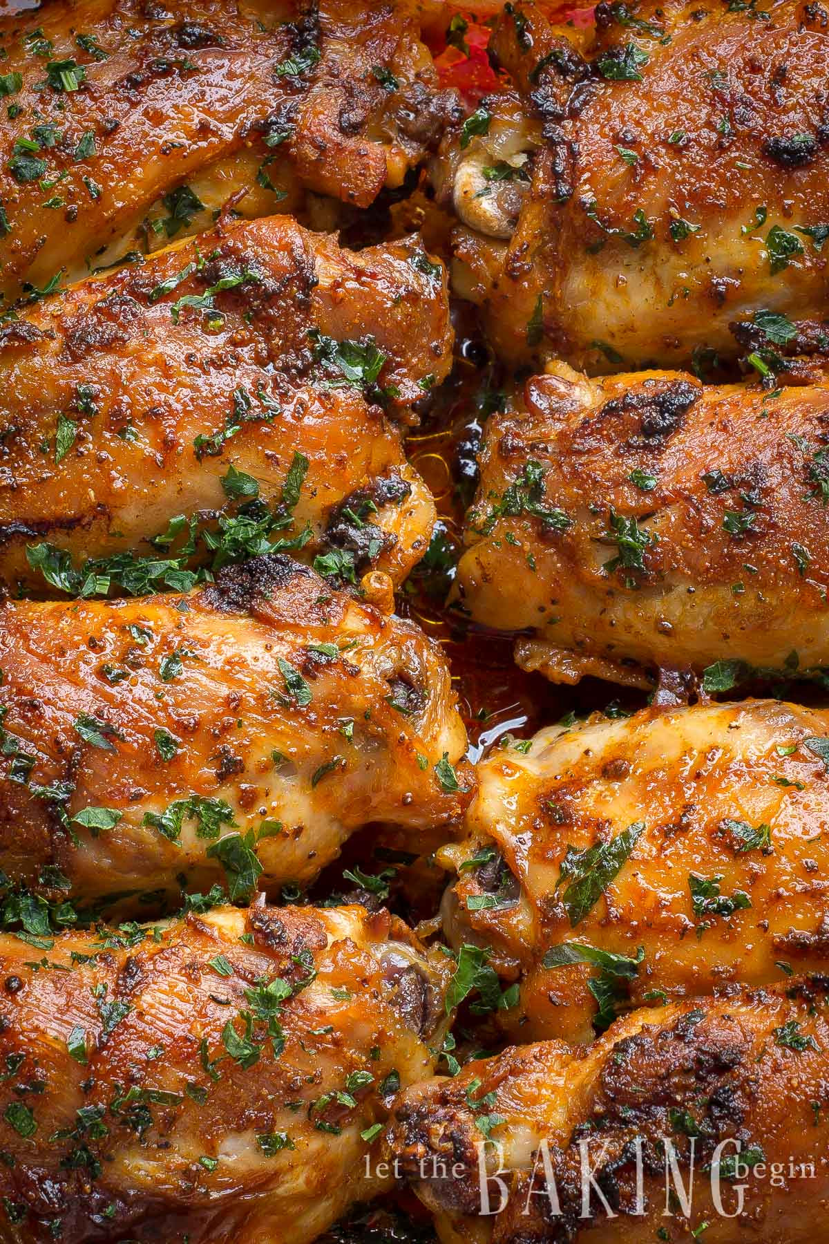 Broiled Chicken Thighs  Paprika Baked Chicken Thighs Paprika Spice Blend Let