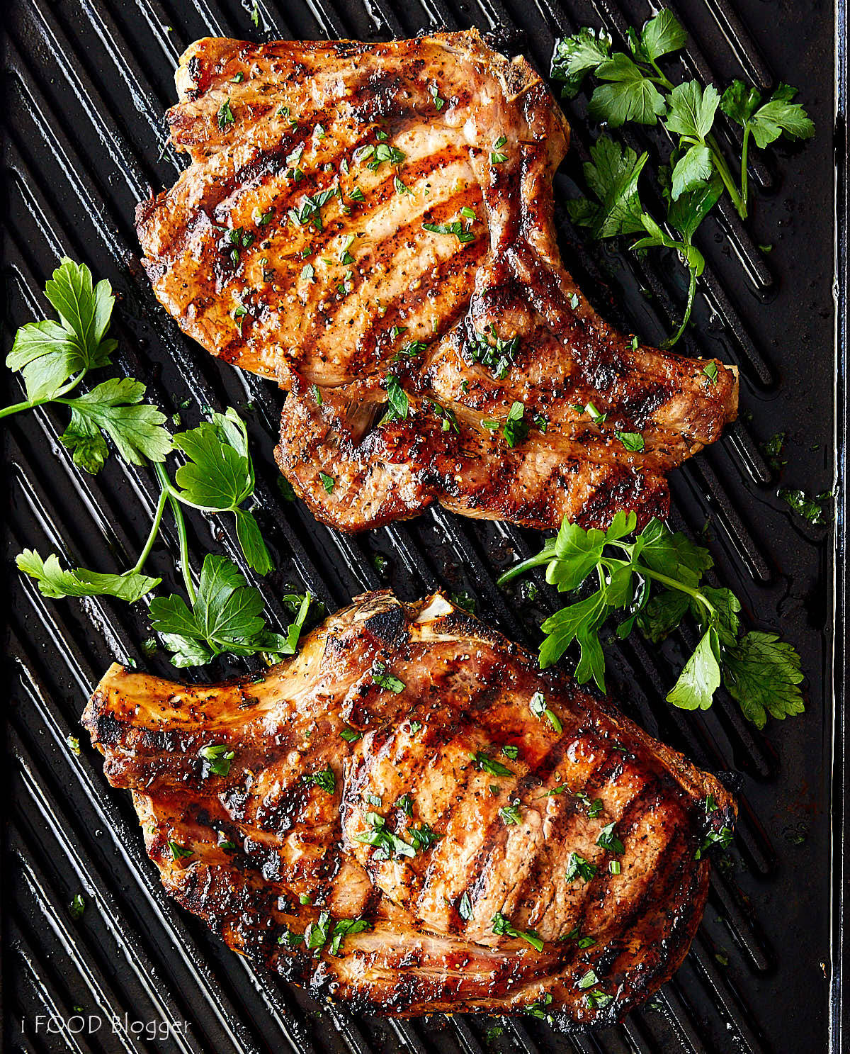 Broiled Pork Chops  Broiled Pork Chops with Creole Seasoning i FOOD Blogger