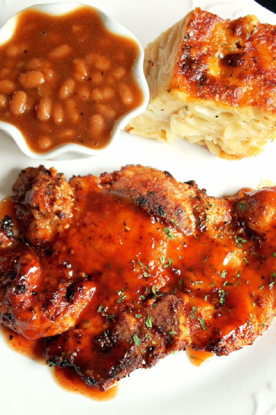 Broiled Pork Chops  Grilled Pork Chops Creole Contessa