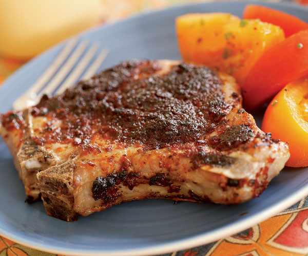 Broiled Pork Chops  broil pork chops without broiling pan