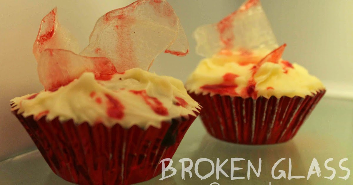 Broken Glass Cupcakes  Broken Glass Cupcakes