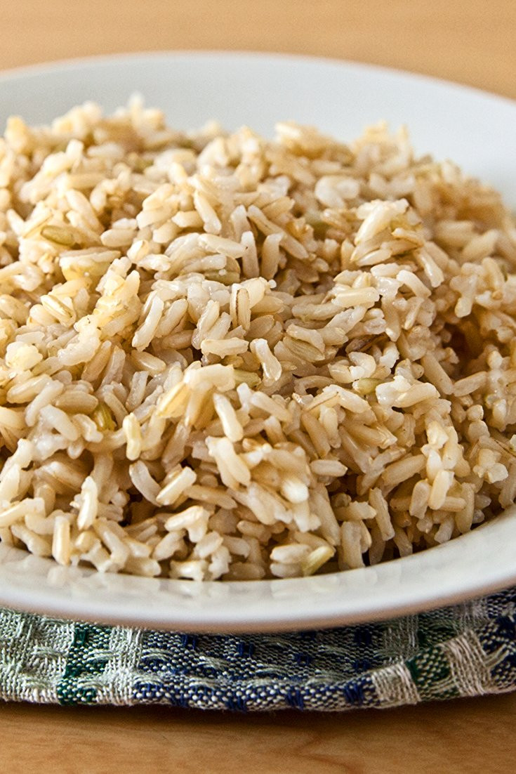 Brown Jasmine Rice  jasmine rice healthy