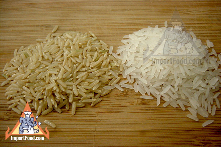 Brown Jasmine Rice  Thai Jasmine rice 10 lb bag available online from