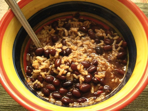 Brown Rice And Black Beans  Black Beans & Brown Rice