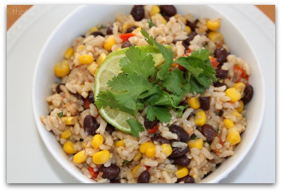 Brown Rice And Black Beans  Black Beans And Brown Rice Recipe