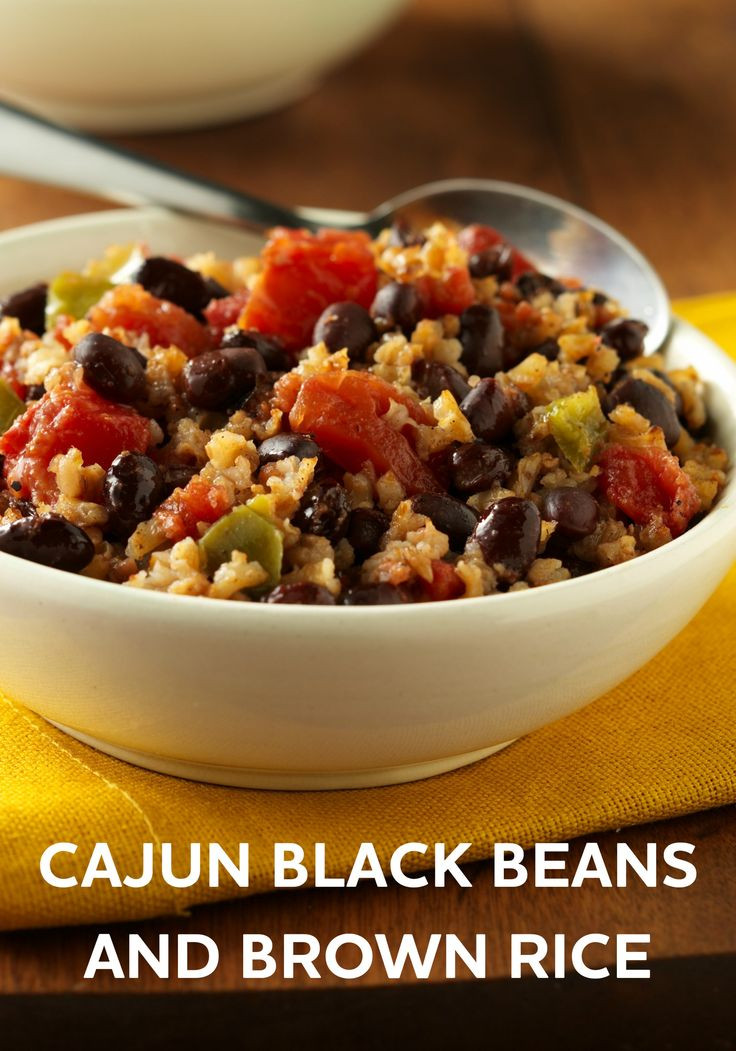 Brown Rice And Black Beans  Cajun Black Beans and Brown Rice Recipe