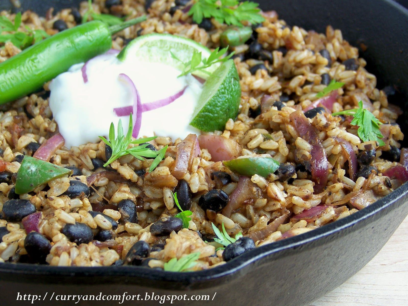 Brown Rice And Black Beans  Kitchen Simmer Black Beans and Brown Rice