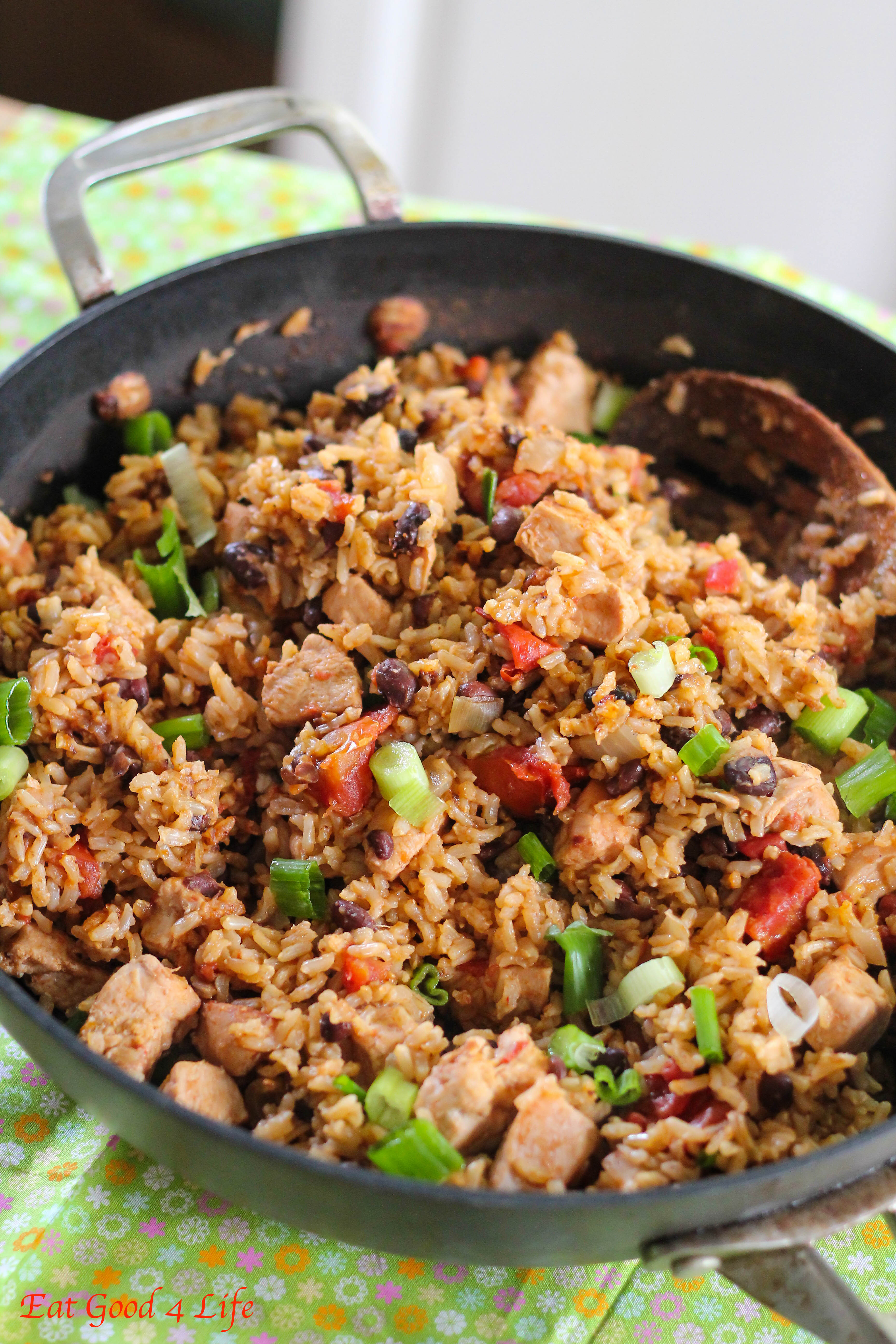 Brown Rice And Black Beans  Slow Cooker Chicken Beans and Rice