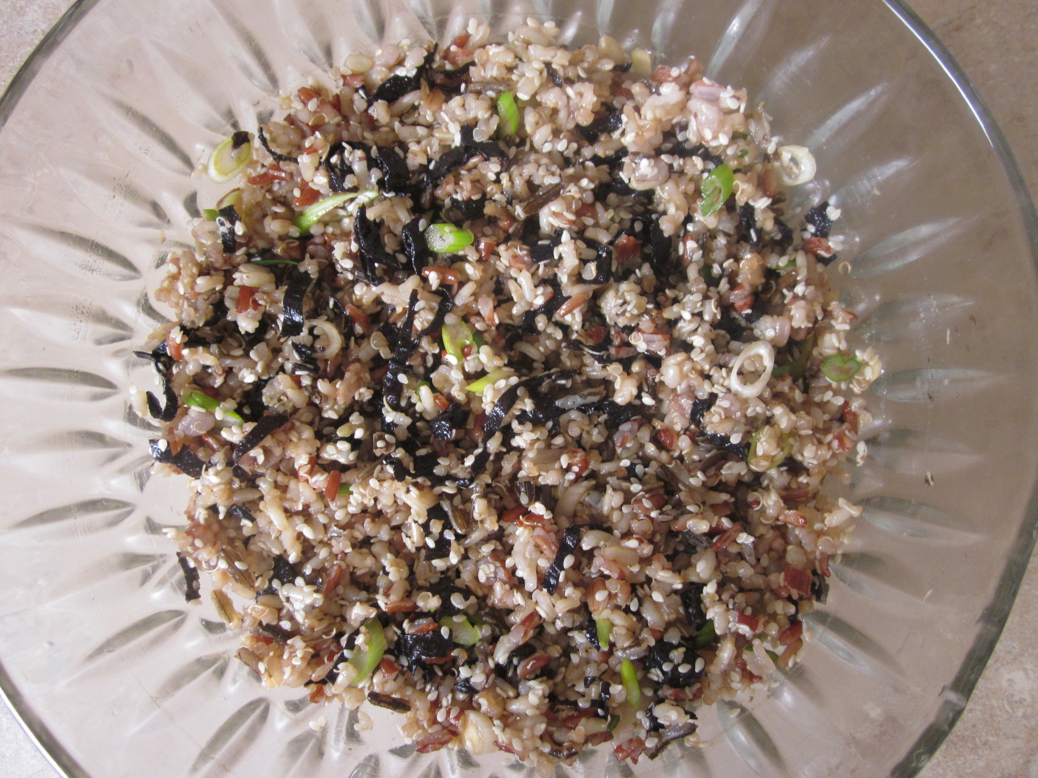 Brown Rice And Quinoa  Brown Rice and Quinoa with Nori and Sesame RecipeRobins Key
