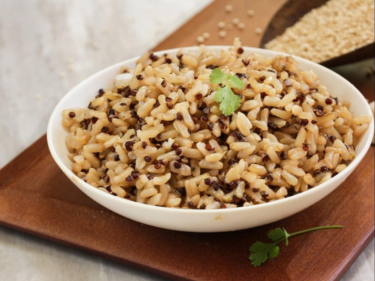 Brown Rice And Quinoa  Brown Rice and Quinoa Nutrition Information Eat This Much