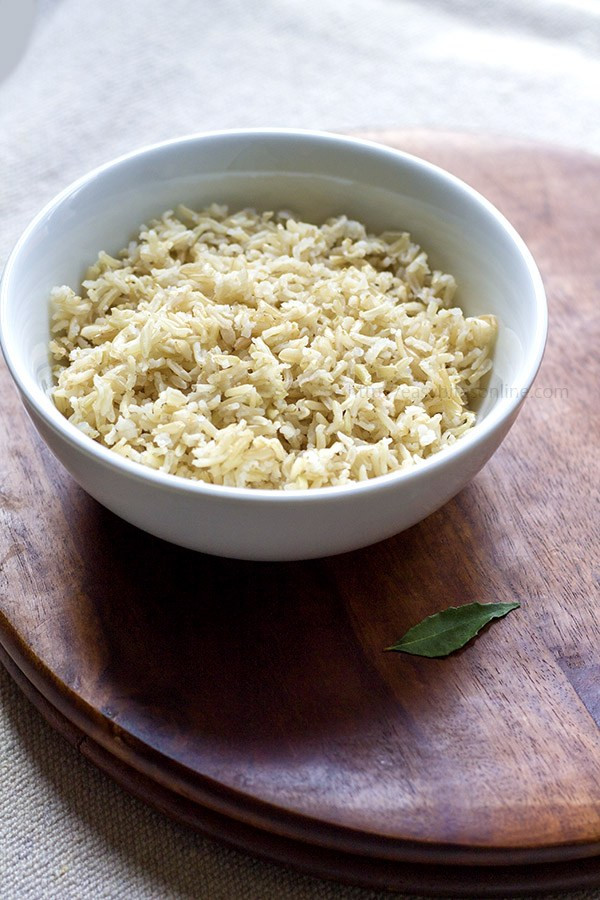 Brown Rice Cooker  brown basmati rice in rice cooker
