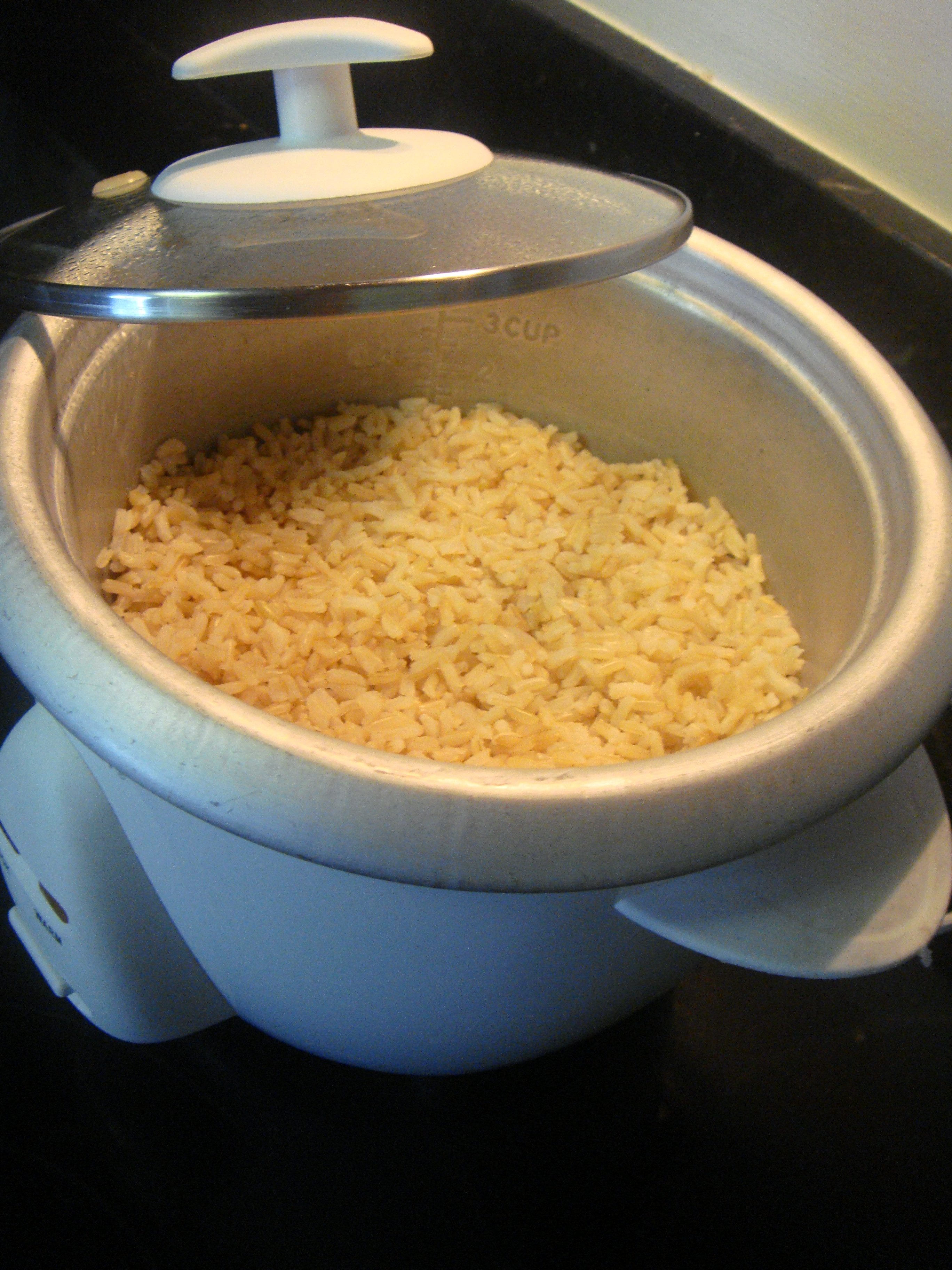 Brown Rice Cooker  Cooking Brown rice