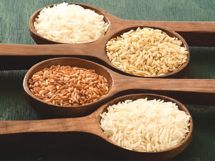 Brown Rice Fiber  Brown Rice vs White Rice Nutrient parison